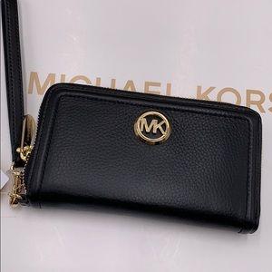 Michael Kors Fulton Lg Flat MF Phone Case Wristlet